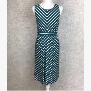 NWT Ann Taylor LOFT Stripe Midi Dress